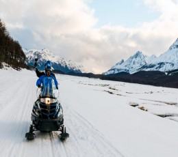 Ushuaia - Aventura e Neve sem Trenó - Inverno