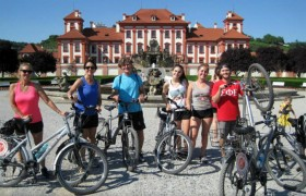 Praga - Descoberta de bicicleta eléctrica